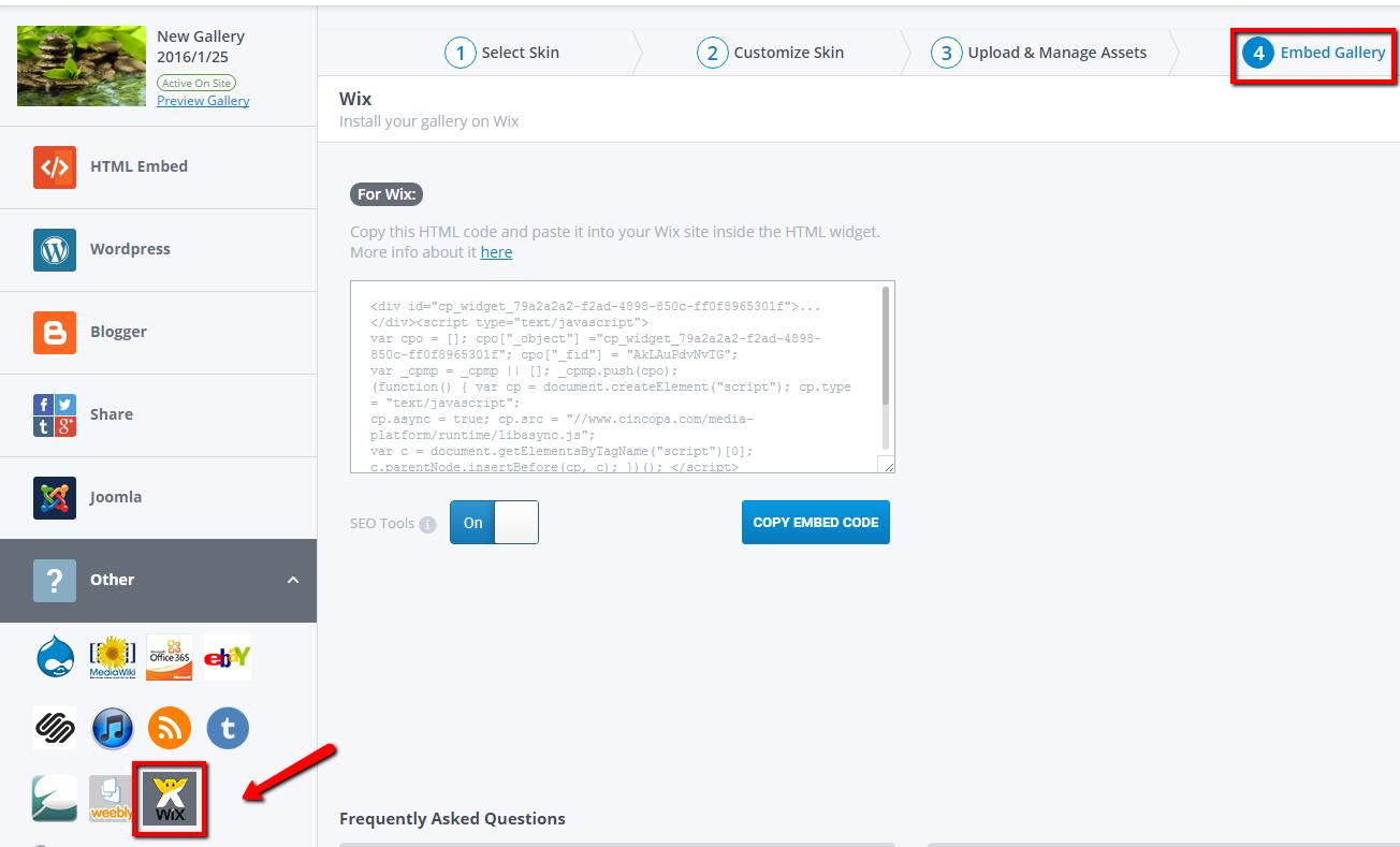 how to delete wix website