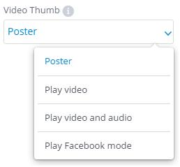 Video thumbs