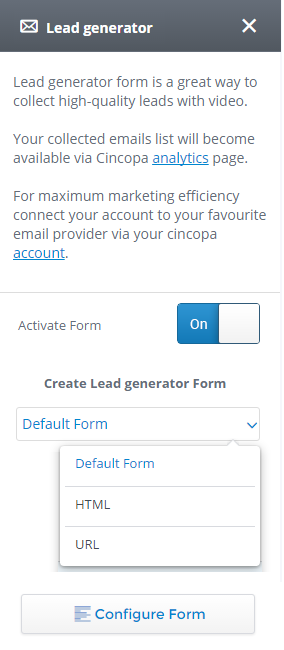 How to Collect Leads from Video with Cincopa's Lead Generator ...